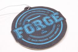 Forge Motorsport Black and Blue Badge Air Freshener