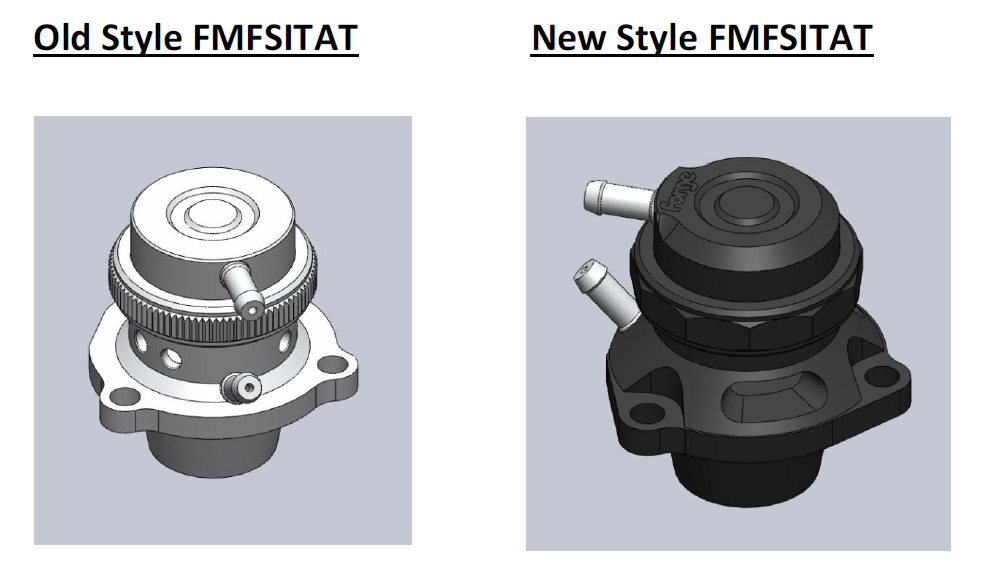 Version 2 Atmospheric & Recirculation valves for VAG 2.0 TFSI
