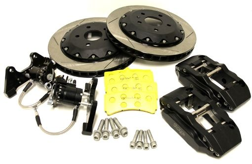 330mm 4 Pot Rear Brake Kit