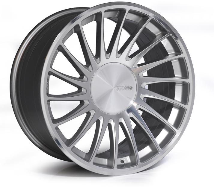 "3SDM Alloy Wheels - 0.04 - Silver - 18"", 19"", and 20"""