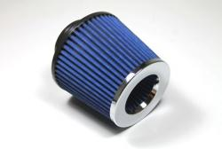 76mm I/D Rubber Neck Open Cone Air Filter
