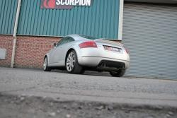 Scorpion Resonated Cat Back Exhaust for the Mk1 Audi TT 225