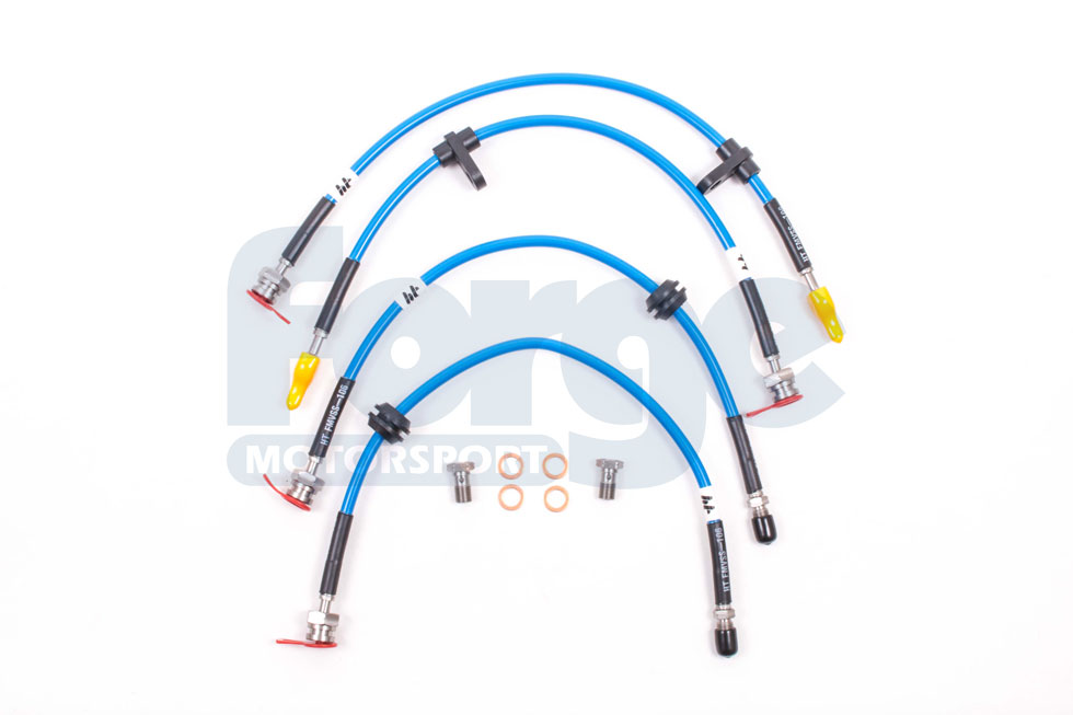braided brake lines for the ford focus rs mk3. Black Bedroom Furniture Sets. Home Design Ideas