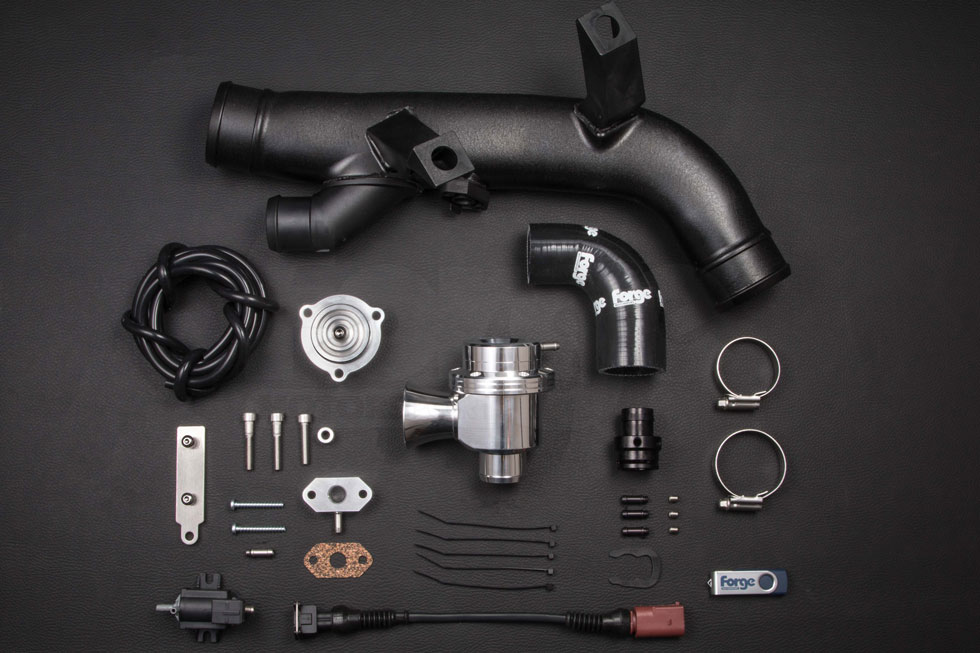 High flow blow off valve and kit for mk6 vw golf 2 litre turbo for 1 stage vs 2 stage vacuum motor