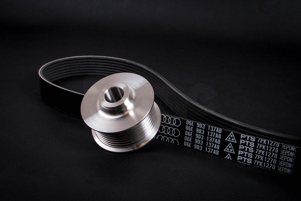 Audi A7 3.0 T Forge compresseur de réduction Poulie /& Courroie d/'entraînement-PN fmscps 53 T